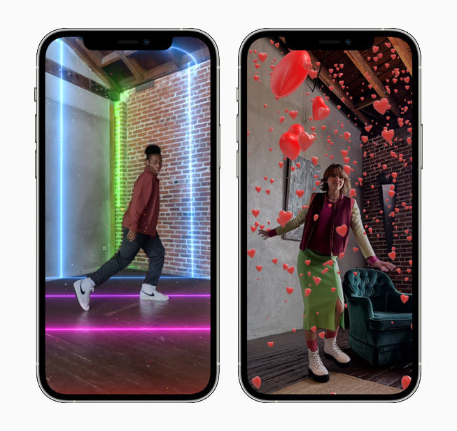 Clips adds immersive new AR Spaces