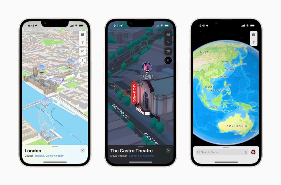 Apple Maps introduces new ways to explore major cities in 3D