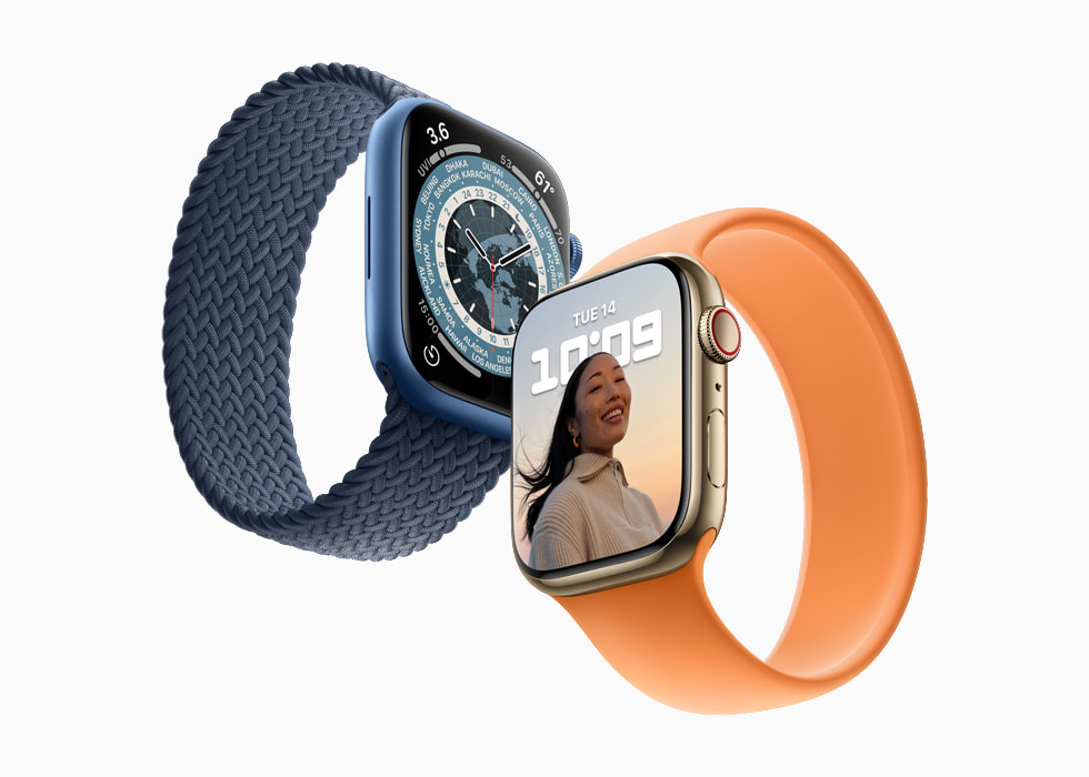 Apple Watch Series 7 orders start Friday, October 8, with availability beginning Friday, October 15