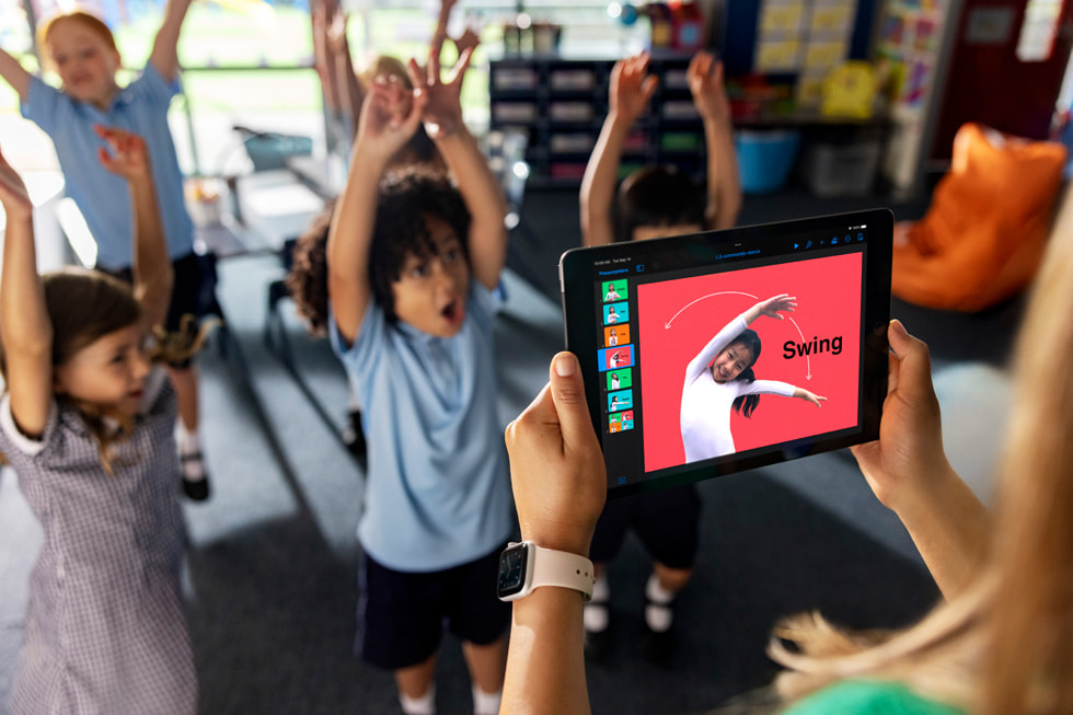 Apple unveils new resources for elementary school coding and inclusive app design